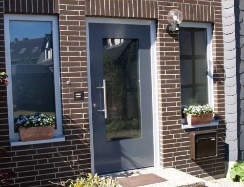 Haustür milchglas  Haustür mit Milchglas – fb tischlerei & design