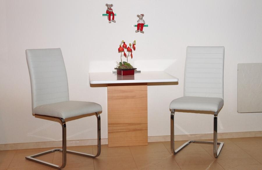 Holztisch mit alu fb tischlerei design for Fb tisch design